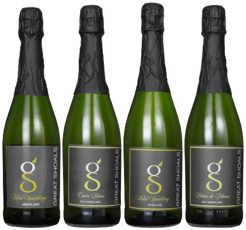 Great Shoals Winery  Sparkling Wines Mixed Pack, 4 x 750 mL