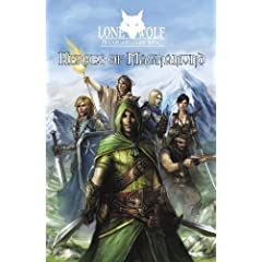 Heroes of Magnamund and Lone Wolf Multiplayer Game Book