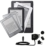 International Wall Home AC Charger for the Amazon Kindle / DX / Touch / Keyboard (WiFi and 3G) &#8211; uses Gomadic TipExchange Technology Picture