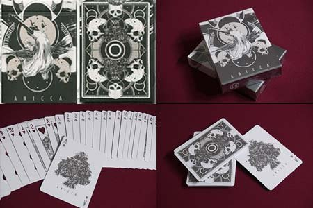 MMS Anicca Deck (Silver) by Card Experiment - Trick