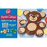 Animal Puzzle Cakes! Build-A-Cake Set