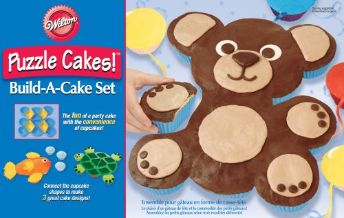 Animal Puzzle Cakes!TM Build-A-Cake Set