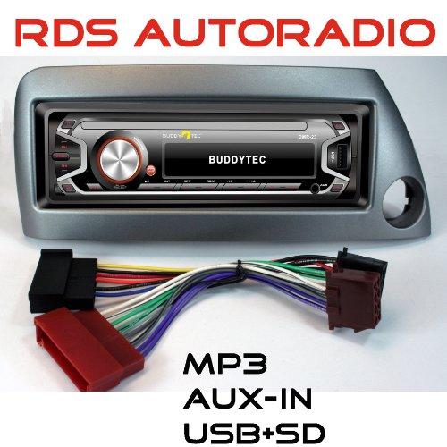 RDS-AUTORADIO für Ford KA mit UKW, MP3/WMA-USB+SD+MMC+AUX-IN;
