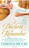 A Duchess to Remember (The Ministry of Marriage)