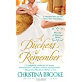 Duchess to Remember, A (Ministry of Marriage Novels)by Christina Brooke