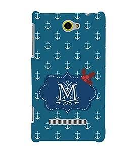 EPICCASE anchor of M Mobile Back Case Cover For HTC Windows Phone 8S (Designer Case)