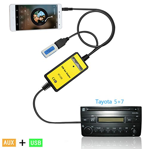 kmfeel-usb-aux-mp3-player-radio-car-digital-music-cd-changer-aux-adapter-for-toyota-5-7pin-camry-199