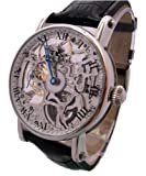 Adee Kaye Mechanical See-Thru Skeleton Watch Model AK-4005