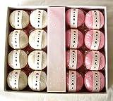 一升餅紅白32個2個入り16包み帯付き(小分け用・背負い餅・誕生餅・風呂敷付)