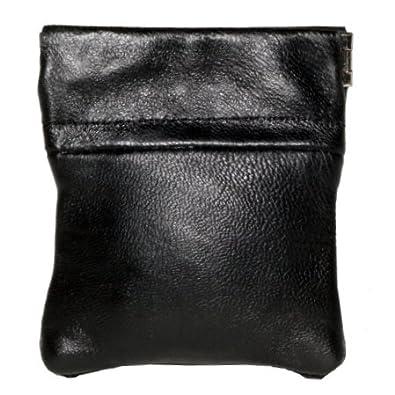 Lorenz Leather Snap Top Purse # 1476 - Black (1)