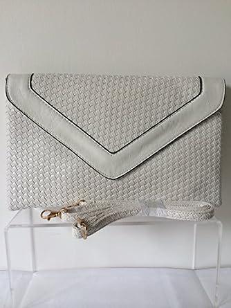Ladies White Shoulder Bag 94