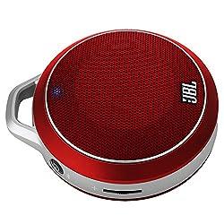 JBL Micro Wireless Portable Speaker (Red)
