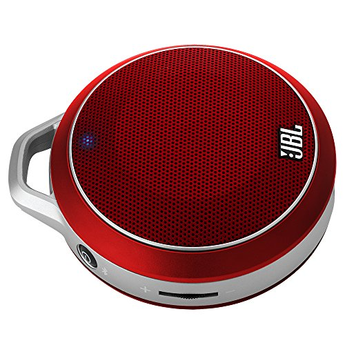 JBL Micro Wireless Ultra-Portable Speaker with Built-In Bass Port and Wireless Bluetooth Connectivity (Red) (Jbl Micro Wireless Red compare prices)