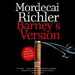 Barney's Version | Mordecai Richler