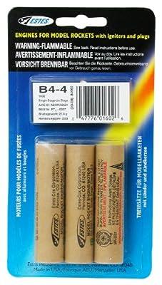 Estes B4-4 Engine Pack (3-Each) by Estes