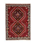 CarpeTrade Alfombra Persian Shiraz (Rojo/Beige)