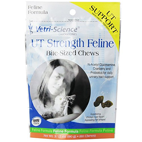 Vetri-Science Cat Supplement (Ut Strength Feline (60 Bites))