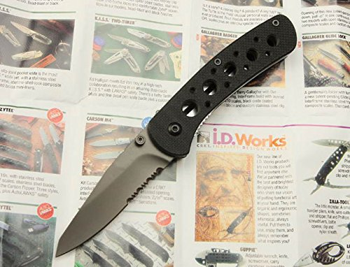 Assisted Open Swtooth Rescuepocket Folding Knife 66122-6.81''