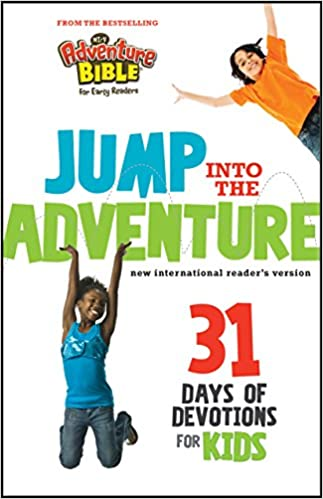 Jump into the Adventure: 31 Days of Devotions for Kids: 31 Days of Devotion for Kids (Adventure Bible)