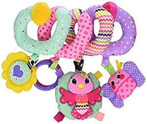 infantino spiral activity toy baby. Black Bedroom Furniture Sets. Home Design Ideas