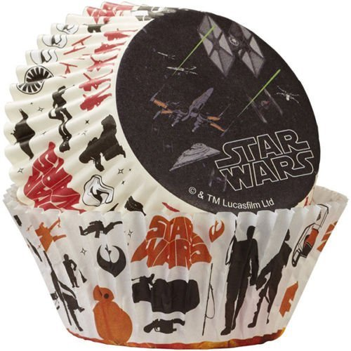 Star Wars Baking Cups Paper Cupcake Tools Cake Decorating (Candyland Themed Balloons)