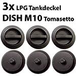 3x Dish M10 Verschlusskappe f�r DISH...