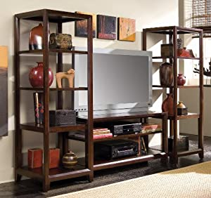 american drew tribecca 64 inch fully assembled tv stand home entertainment centers. Black Bedroom Furniture Sets. Home Design Ideas