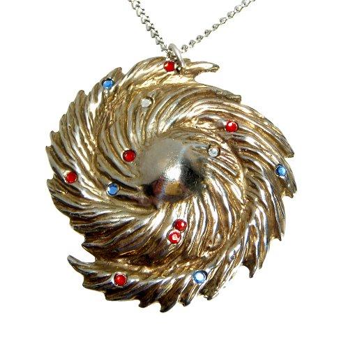 Bronze Galaxy Keychain with 13 Swarovski Crystals