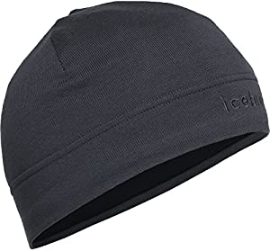 Icebreaker Erwachsene Mütze Mogul Beanie, Black/Monsoon, One size, 100790001OS