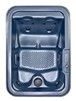 Hot Sale QCA Spas Model 1 North Star Hot Tub, 80.5 by 56.5 by 30-Inch, Blue Denim