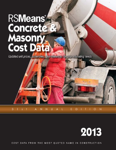 RSMeans Concrete & Masonry Cost Data 2013 - RS Means - RS-Concrete - ISBN: 1936335573 - ISBN-13: 9781936335572