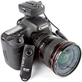 Exclusive High Quality VILTORX® JY-120-C1 wireless remote shutter release for Canon EOS camera 70D 60Da 60D T6s T6i T5i T3i T5 T3 1200D 760D 100D 550D 1100D (FBA)