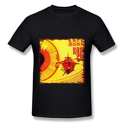 UTU Kate Bush Kick Inside Album Mens Fashion T Shirt Black XL (Kate Bush Shirt compare prices)