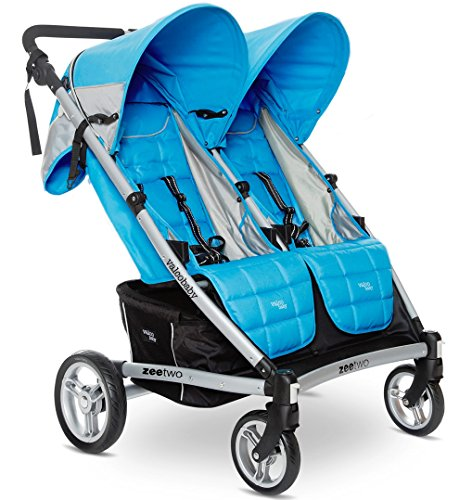 Valco Baby 2013 Zee Two Double Stroller, Cloudless, 0 Plus Months