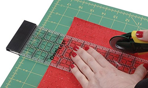 OmniEdge 4-Inch-by-36-Inch Non-Slip Quilter's Ruler (E Quilter compare prices)