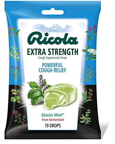 Glacier Mint Extra Strength Cough Drops
