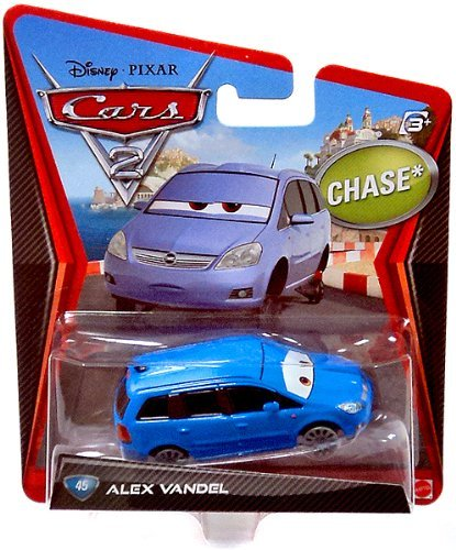 Disney / Pixar CARS 2 Movie 1:55 Die Cast Car Alex Vandel - 1