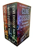 Clive Cussler 3-Books Collection Box Set (Shock Wave, Serpent, Flood Tide)