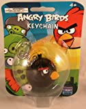 51AhAQfwNLL. SL160  Angry Birds Black Bird Key Chain