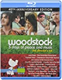 Woodstock: 3 Days of Peace & Music [Blu-ray] (Sous-titres français) [Import]