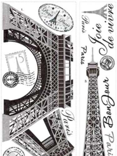 Roommates Rmk1576Gm Eiffel Tower Peel And Stick Giant Wall Decal front-302127