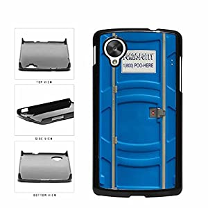 BleuReign(TM) Funny Porta Potty Plastic Phone Case Back Cover Google