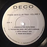 FRANK SKI CLUB TRAX VOLUME 3 vinyl record