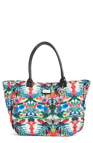 CXL Womens Handbags Amaryllis Travel Beach Tote Shoulder Bag Caribe Beach by Christian Lacroix (Beach Tote With Wheels compare prices)