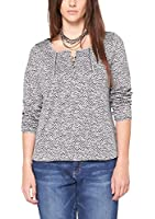 Triangle by s.Oliver Damen Langarmshirt 18.411.31.7676