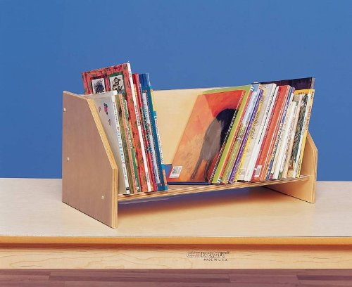 Bird-in-hand Birch Tabletop Book Display, 24 X 11-1/2 X 11-1/2 Inches