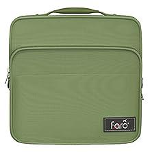 buy Faro Premium Luxury Aviation Headset Carry Bag - Green