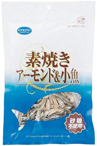 共立食品 素焼きアーモンド&小魚チャック 65g×10袋