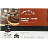 Green Mountain Coffee Roasters Gourmet Single Cup Coffee Boston Cream Donut Donut House Collection 12 K-Cups