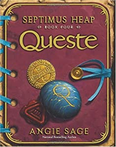 Cover of &quot;Queste (Septimus Heap, Book 4)&amp;...